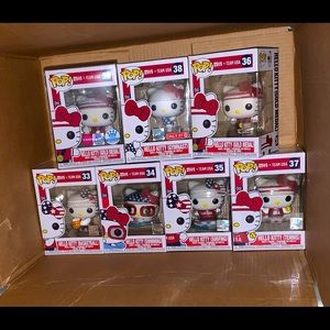 Hello Kitty Funko Team USA Set (7)